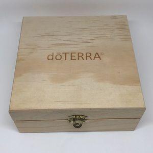 doTERRA Essential Oils Wooden Storage Box